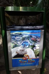 Siam Parku z jego niemal pionową zjeżdżalnią