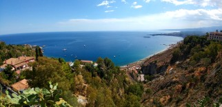 widok z Taorminy