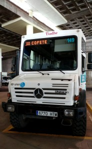 autobus miejski 4x4 do Cofete
