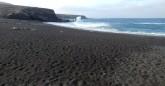 czarna plaża w Ajuy