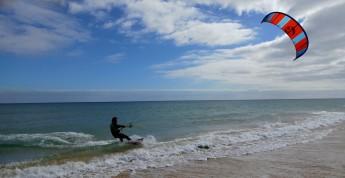 kitesurfing na Sotavento