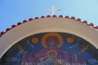 w klasztorze patrona wyspy św. Gerasimosa